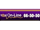 Логотип ON-LINE T@XI