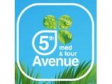 Логотип 5 Авеню мед & тур, международное агентство медицинского и выездного туризма